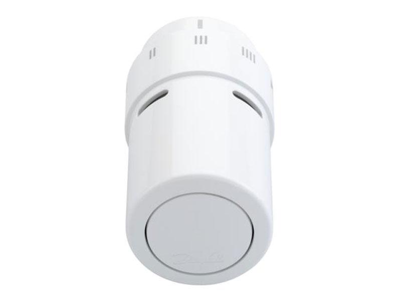 Thermostatkopf weiß